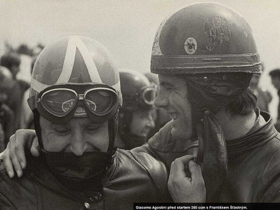 Rijeka 1985 – 500 cm 3 Společně s kolegou a kamarádem jezdcem Gustou Havlem byl i František Šťastný při své závodní kariéře neodmyslitelně spojený se