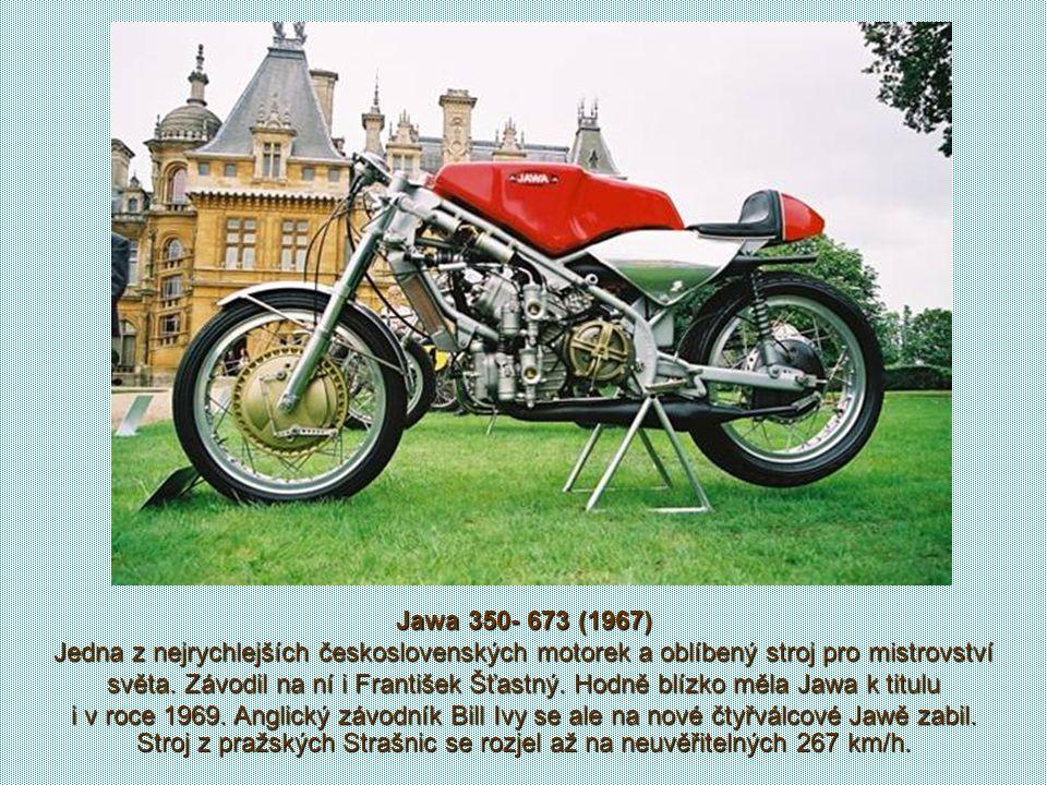 Závodil na strojích Jawa 500 2xOHC, Jawa 350 2xOHC i Jawa 250. Příležitostně, když Jawa neměla vhodný stroj pro některou objemovou kategorii, startova