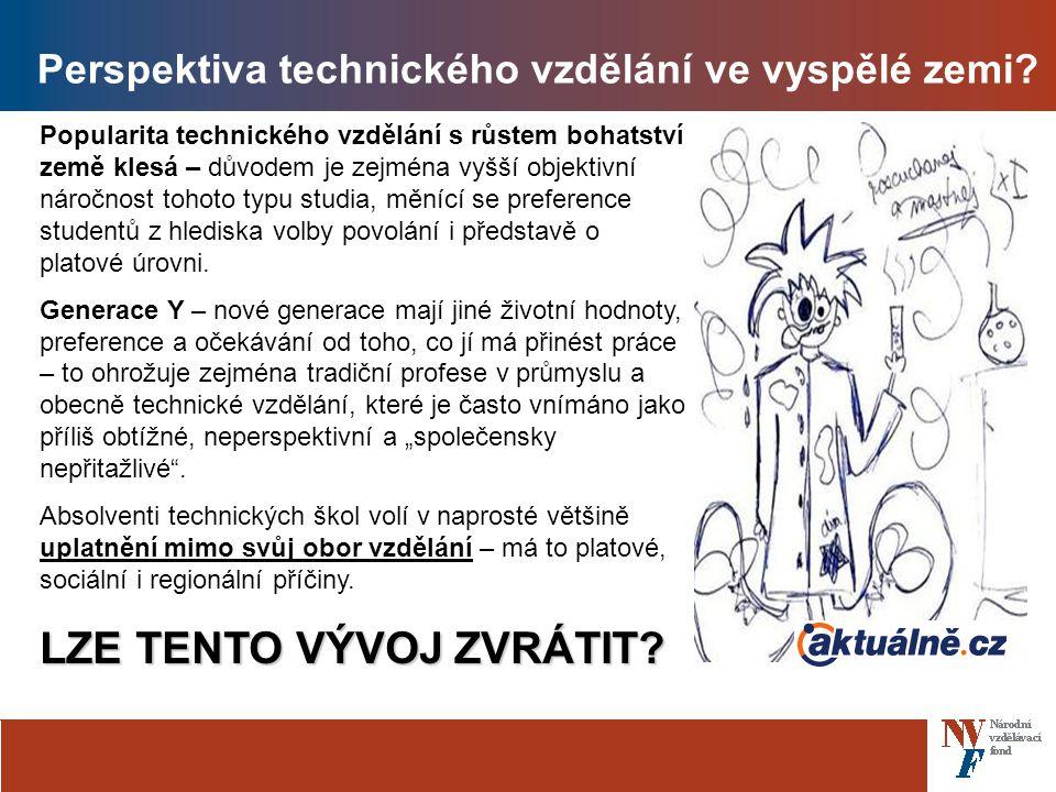 Perspektiva technického vzdělání ve vyspělé zemi.