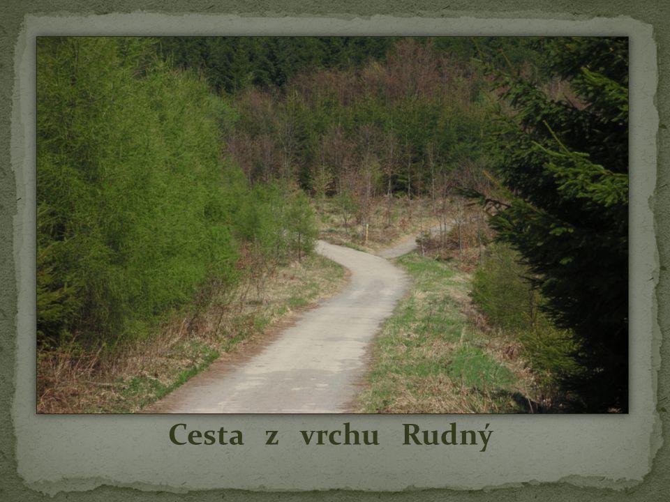 Cesta z vrchu Rudný