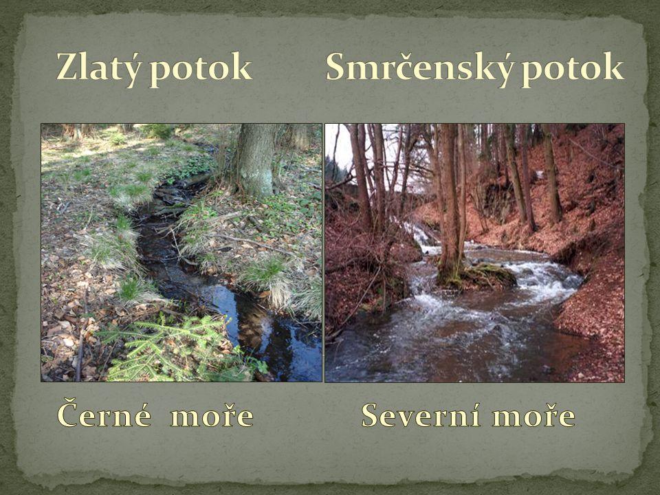 V okolí šachty sv.Jiří se nachází 25 větších hromad vykopaného materiálu – tzv.