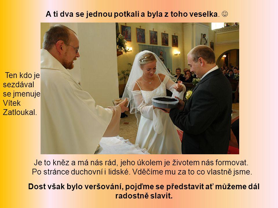 Jsme Pavel a Liduška Solovští z Olbramic.