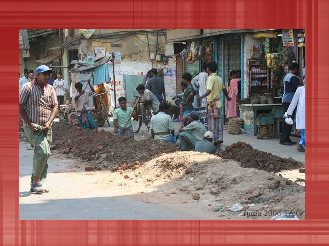 OTÁZKY A ODPOVĚDI V jakých podmínkách v Indii žijí.