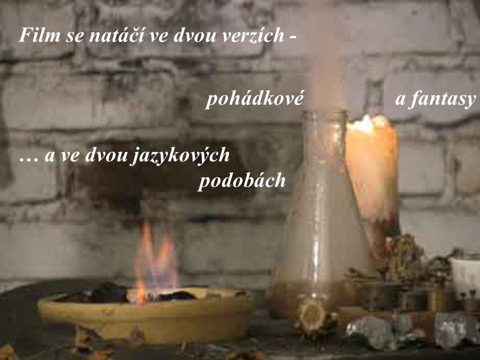 Také kdo by se nechtěl podílet na prvním ryze českém fantasy filmu, že ?