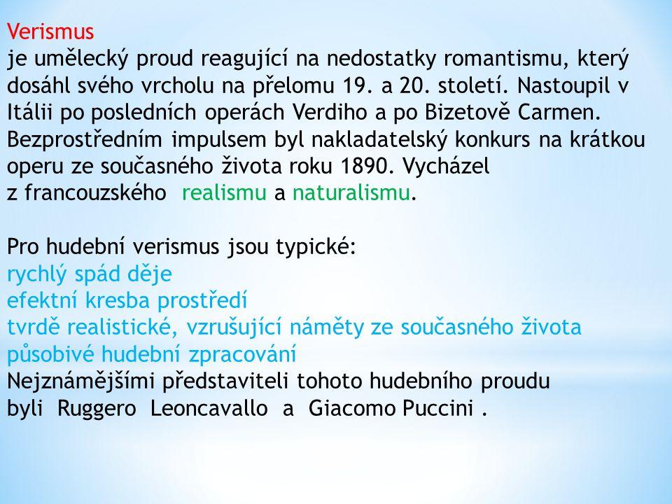 Romantismus poznamenal hudební vývoj všech evropských národů.