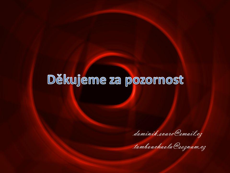 dominik.svarc@email.cz tombouchaola@seznam.cz