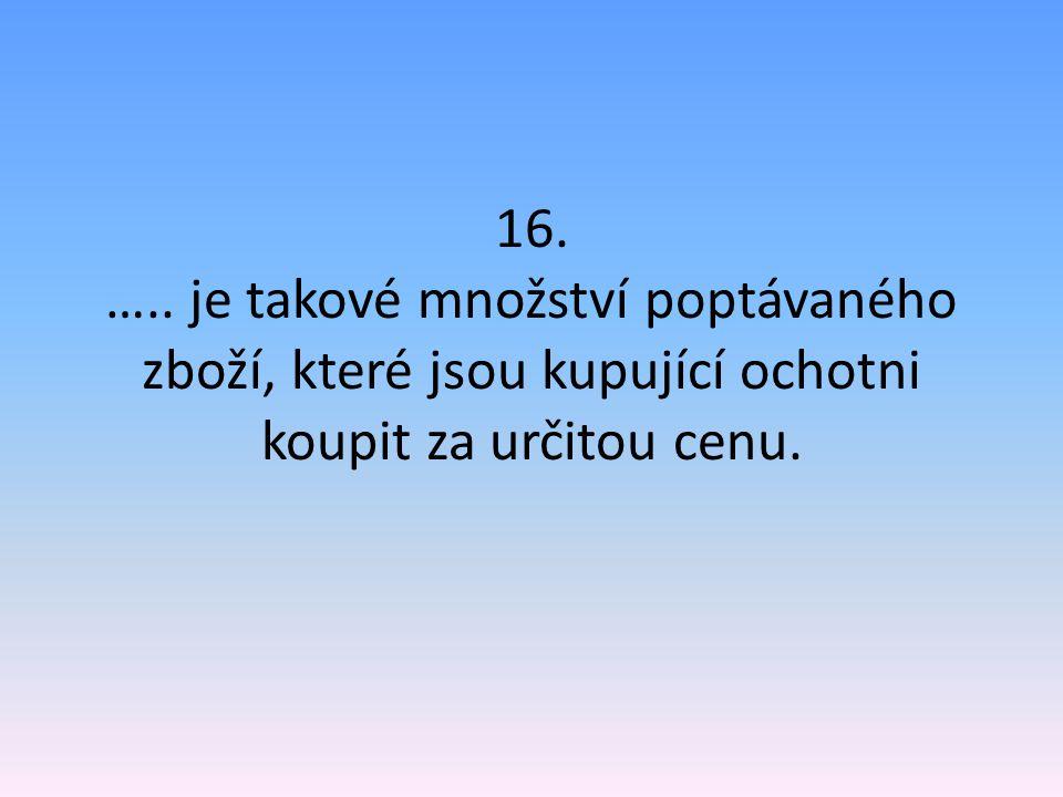 1.DOMÁCNOST 2.3.SLUŽBY 4. 5.STATKY 6. 7.TRH 8. 9.