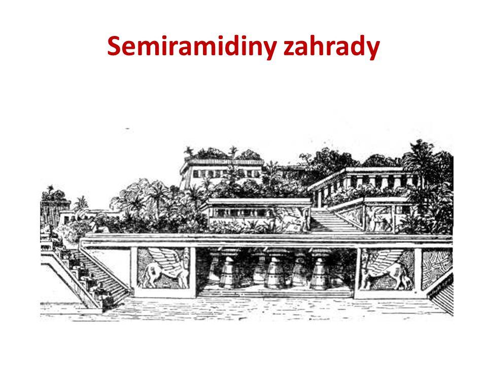Semiramidiny zahrady
