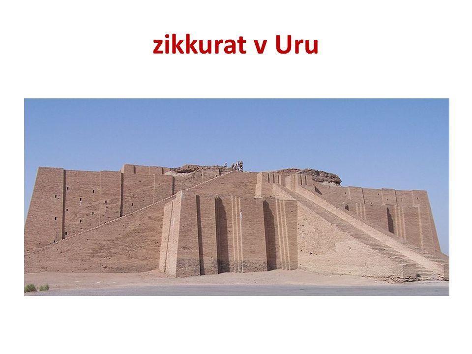 zikkurat v Uru