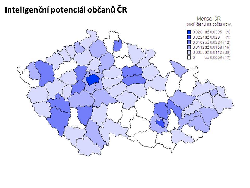 Inteligenční potenciál občanů ČR