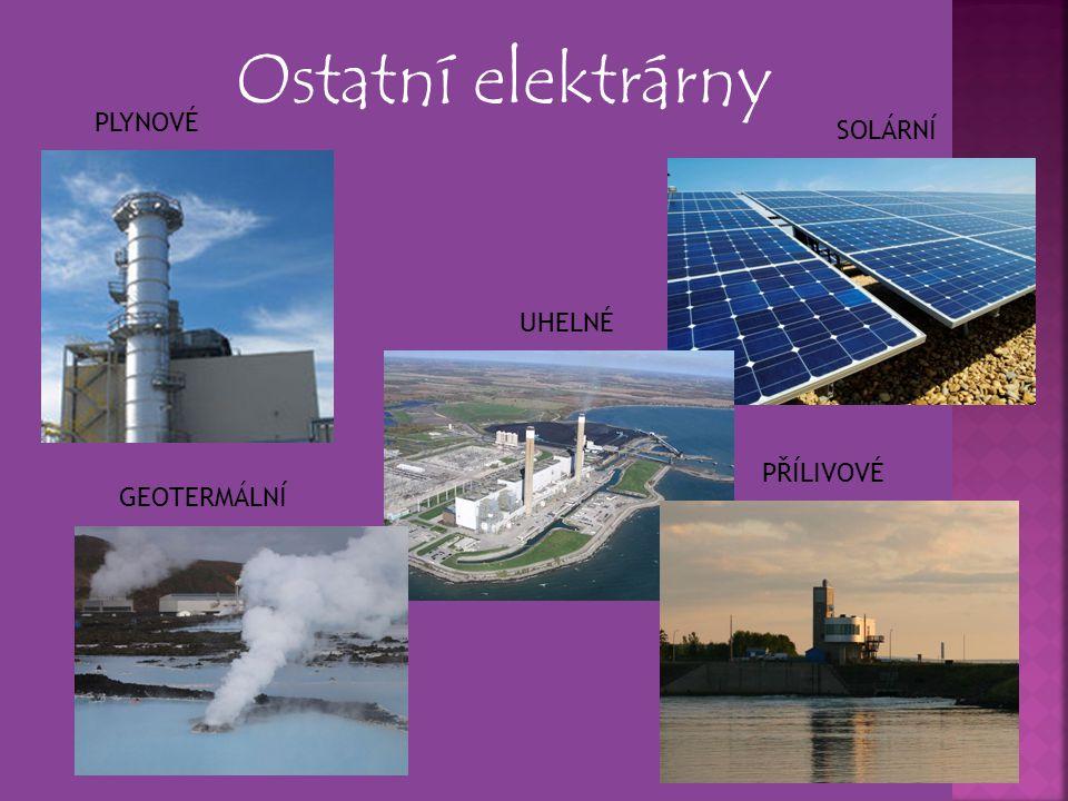 Úkol pro žáky 1) Jakého druhu je elektrárna Dukovany.