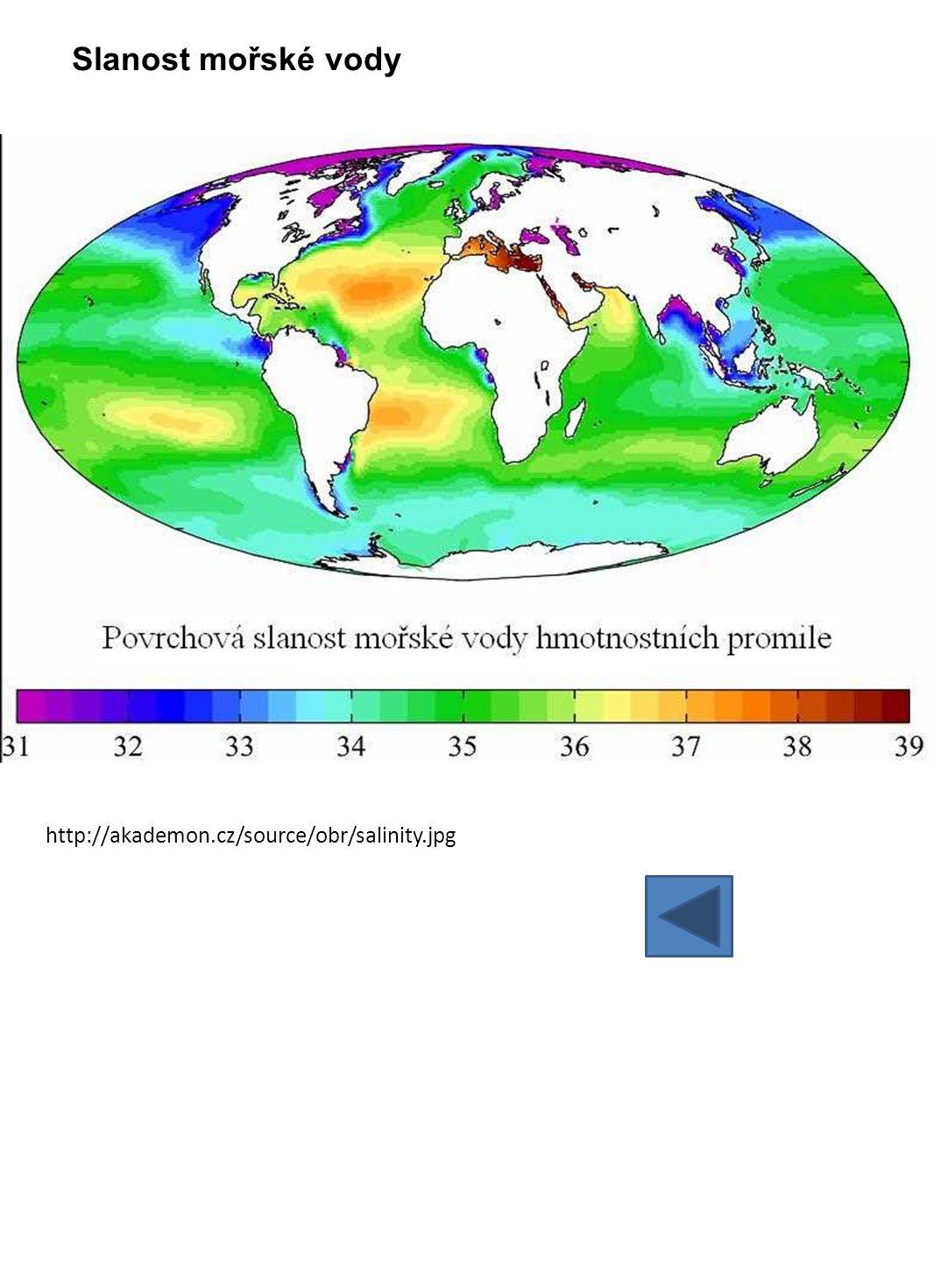 e) pohyby mořské vody 1.) vlnění 2.) příliv a odliv = dmutí 3.) mořské proudy • jaké jsou hlavní příčiny těchto jevů?