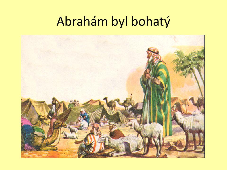 Setkání Abraháma s Hospodinem