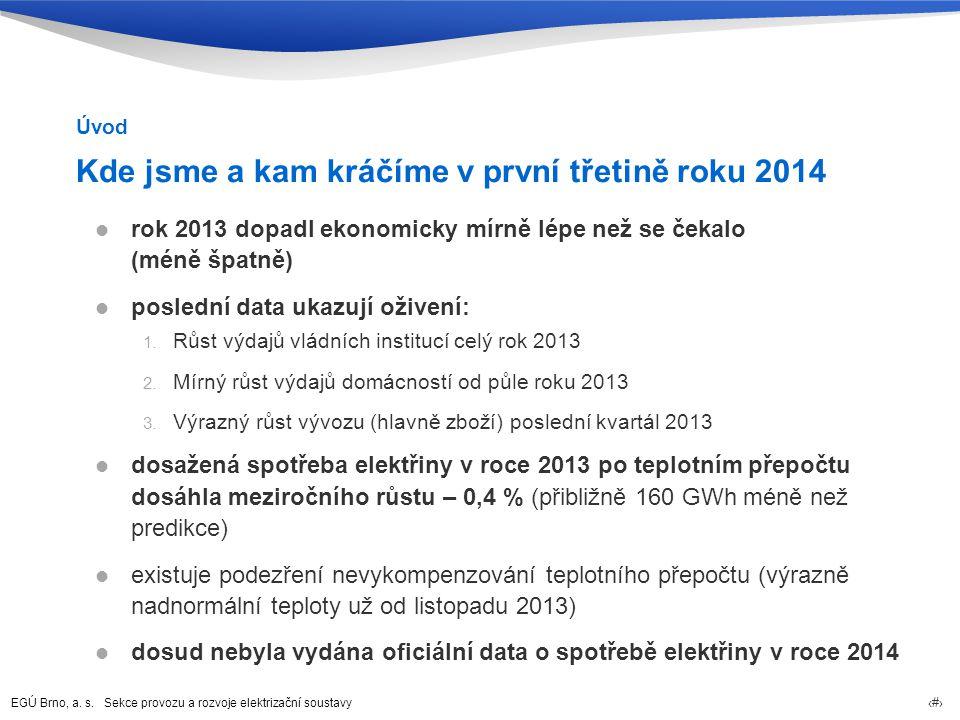 Program jednání 1.Úvod 2. Komentář k vývoji spotřeby elektřiny v ČR 3.