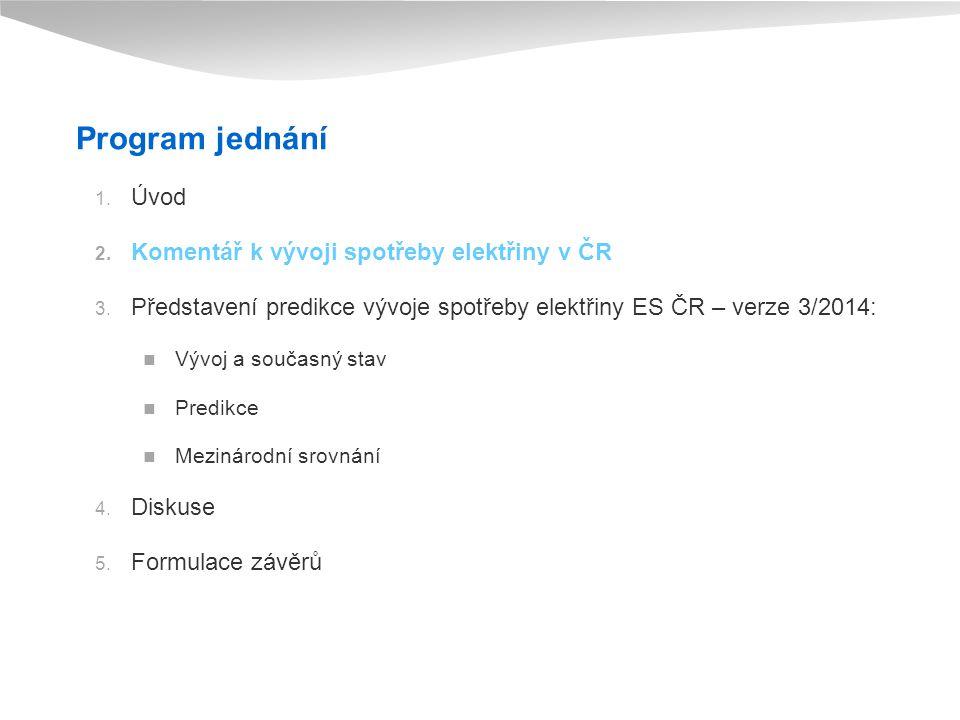 Vývoj spotřeby elektřiny ES ČR v roce 2013 (Jaroslav Škarda) 1. 4. 2014