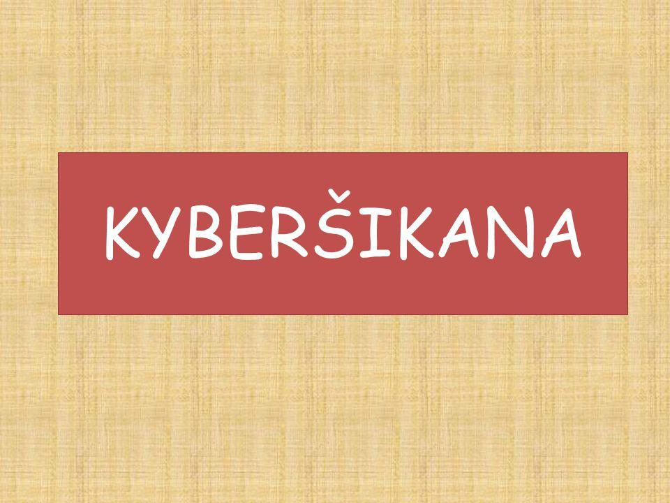 Kyberšikana a tradiční šikana mají jednu věc společnou - cílem obou je někomu ublížit.