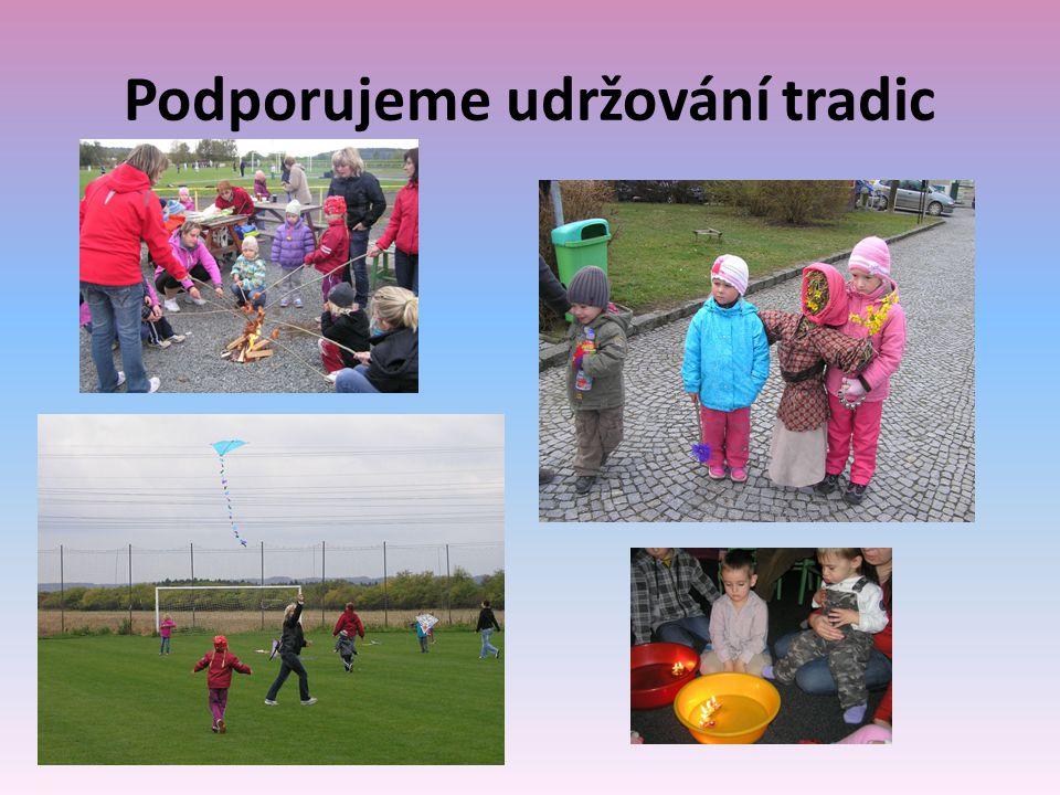 Podporujeme udržování tradic