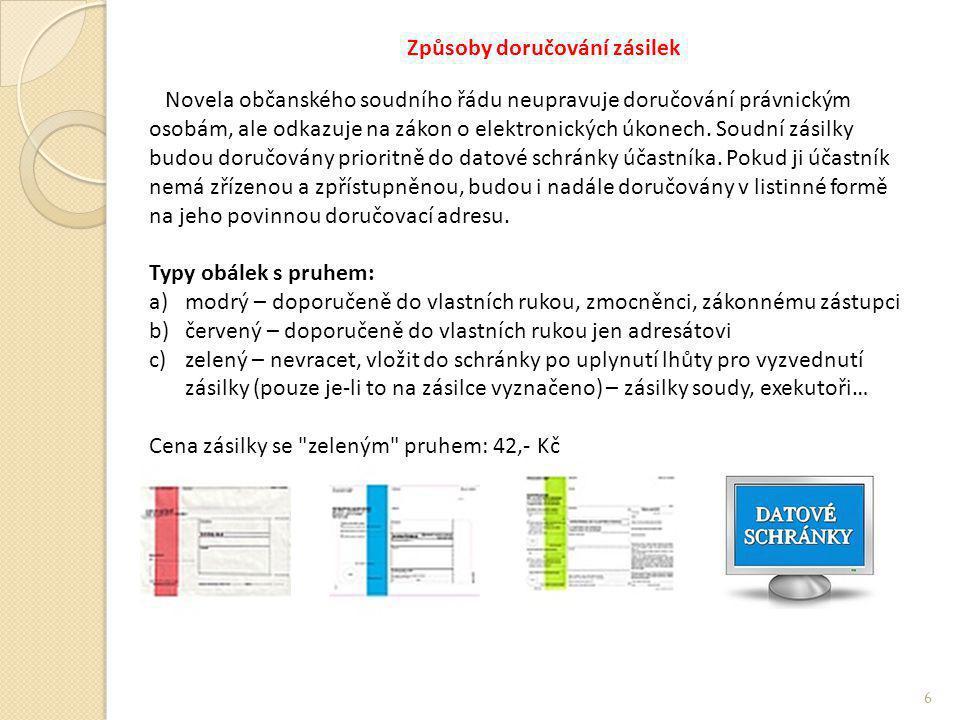 Přístupové údaje Přístupové údaje pro přihlašování do datové schránky dle § 1 vyhlášky č.