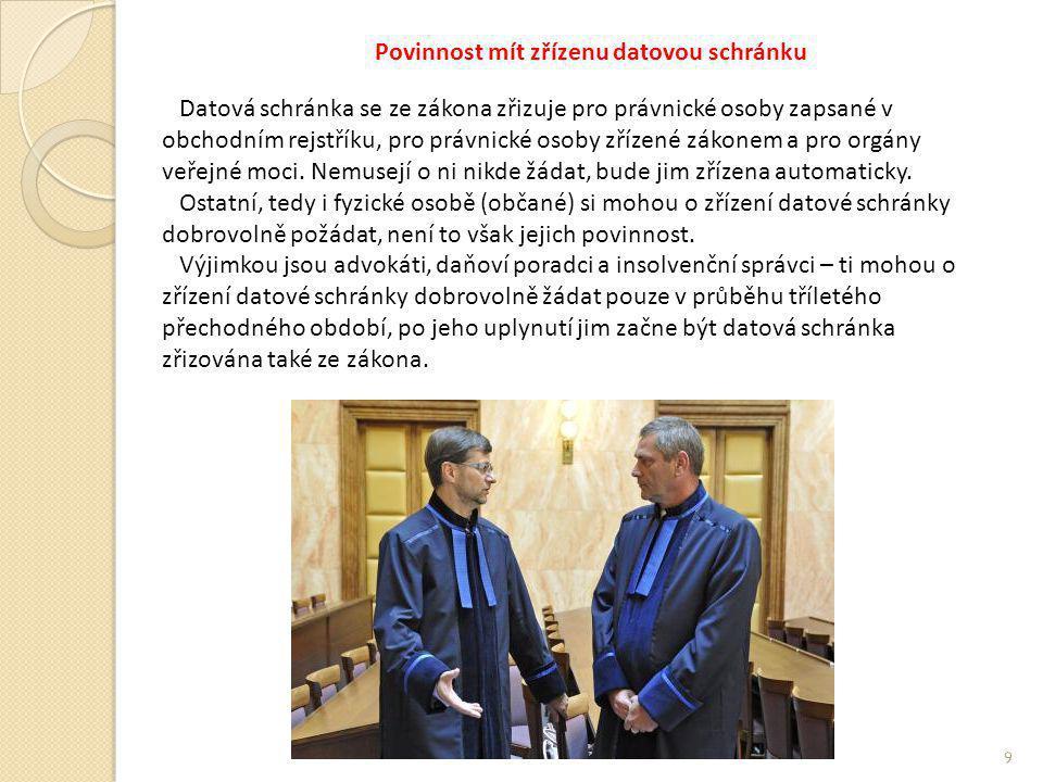 Bezpečný klíč Bezpečný klíč k datové schránce je nový produkt České pošty s.p.