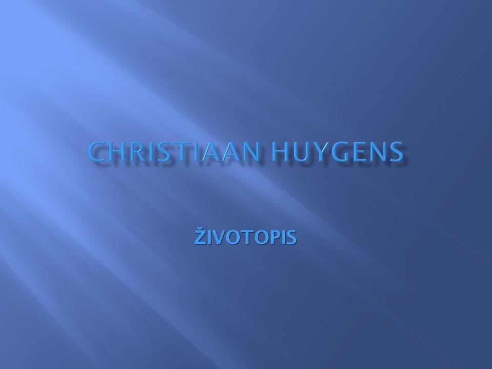 Huygens se nikdy neoženil  Byl tichý, uzavřený člověk  Jmenuje se po něm:  Asteroid 2801 Huygens  Kráter Huygens na Marsu  Planetární sonda Huygens  Huygens software pro zpracování obrazu v mikroskopu  Huygensův princip