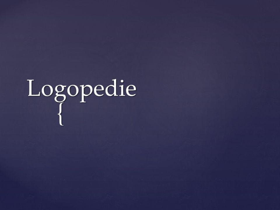 { Logopedie