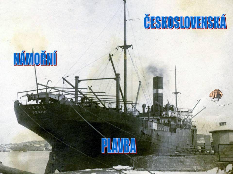 První československou lodí zakoupenou po druhé světové válce byla Republika, postavená v roce 1920.