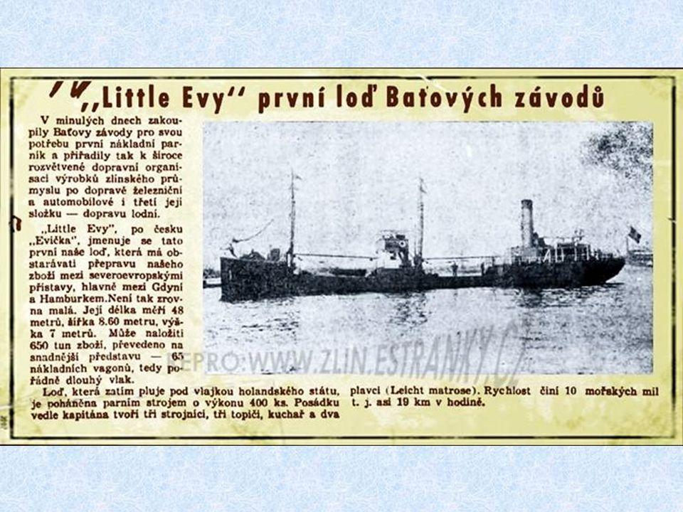 Jméno lodi : Brno Rok stavby : 1965 Ve službě ČNP: 1965 - 81 Celkem roků : 16,2 Spotřeba paliva: 22,5 tuny denně