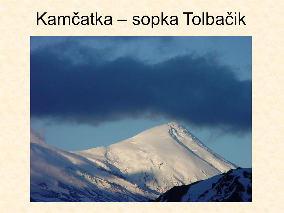 Kamčatka – sopka Tolbačik