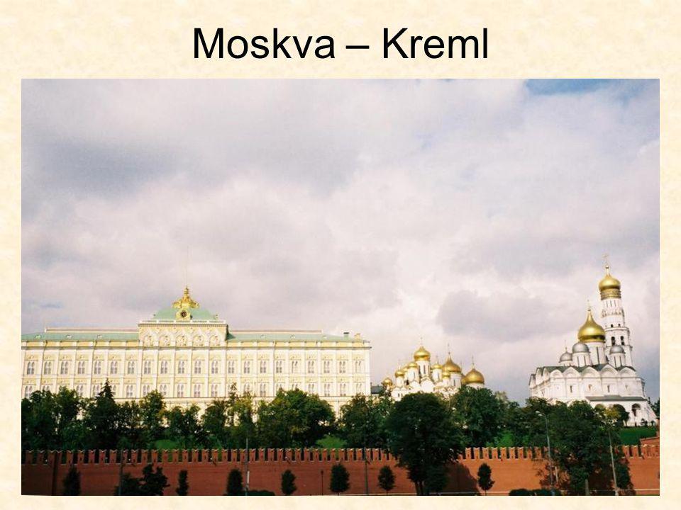 Moskva – Kreml