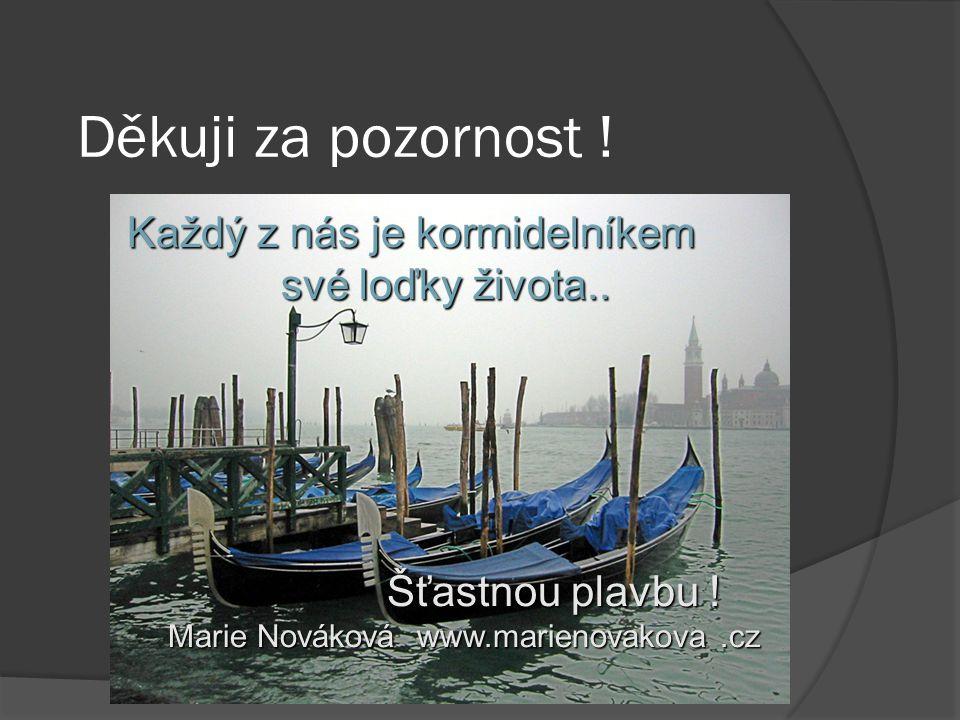 Ing.Mgr. Nováková M Děkuji za pozornost .
