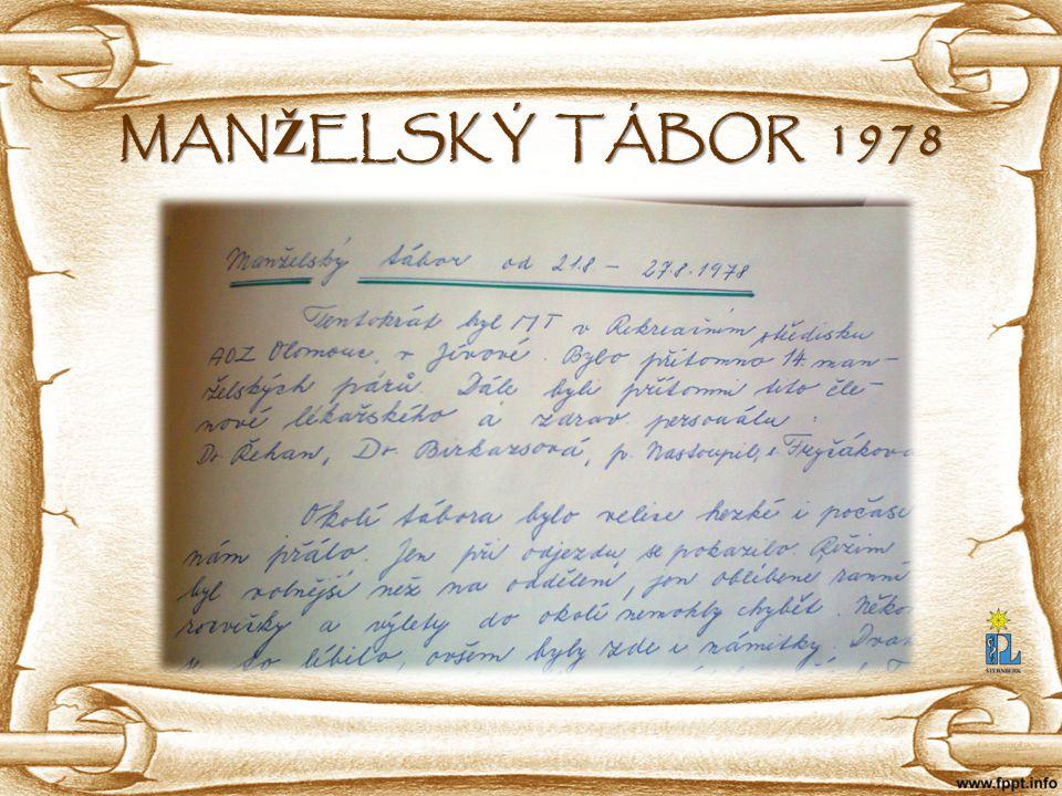 MAN Ž ELSKÝ TÁBOR 1978
