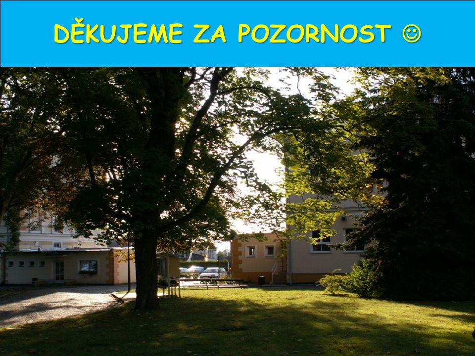 Psychiatrická léčebna Šternberk, Olomoucká 1848/173, 78501 Šternberk DĚKUJEME ZA POZORNOST 