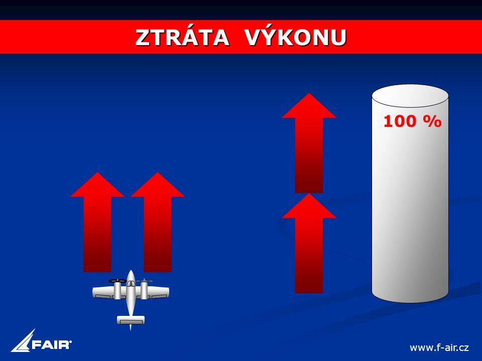 100 % ZTRÁTA VÝKONU www.f-air.cz