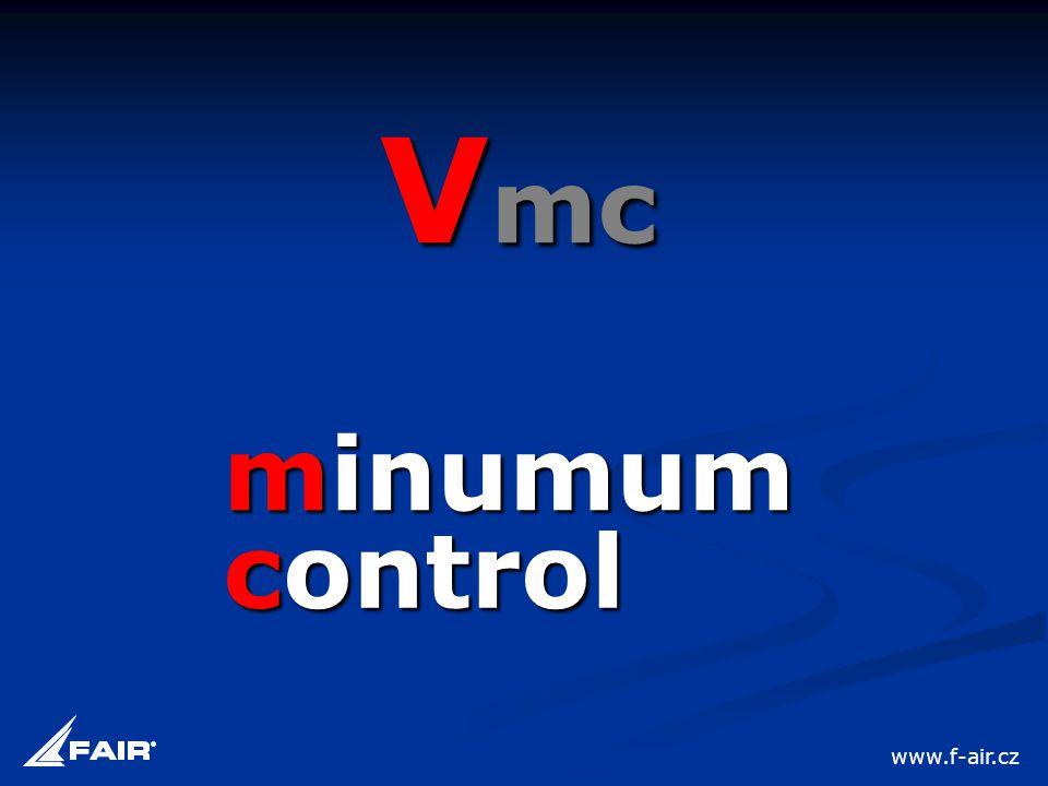 minumum V mc control www.f-air.cz
