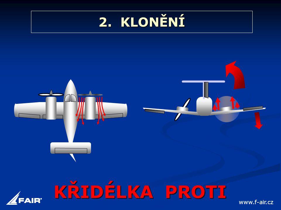 2. KLONĚNÍ KŘIDÉLKA PROTI www.f-air.cz