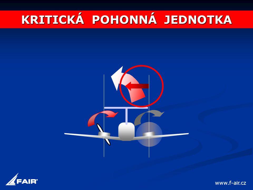 KRITICKÁ POHONNÁ JEDNOTKA www.f-air.cz