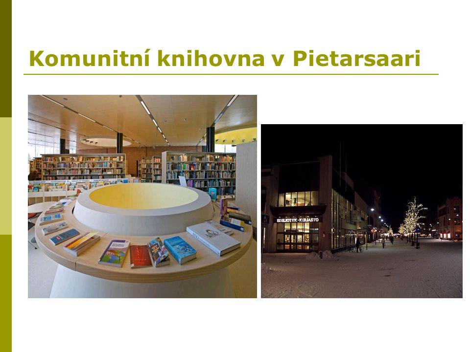 Komunitní knihovna v Pietarsaari
