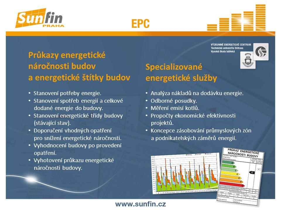 REFERENCE Vypracované projekty (optimalizační studie, energetické audity, projektové práce, průkazy energetické náročnosti budov, technicko – ekonomické studie) pro celou řadu renomovaných společností, jsou to např.