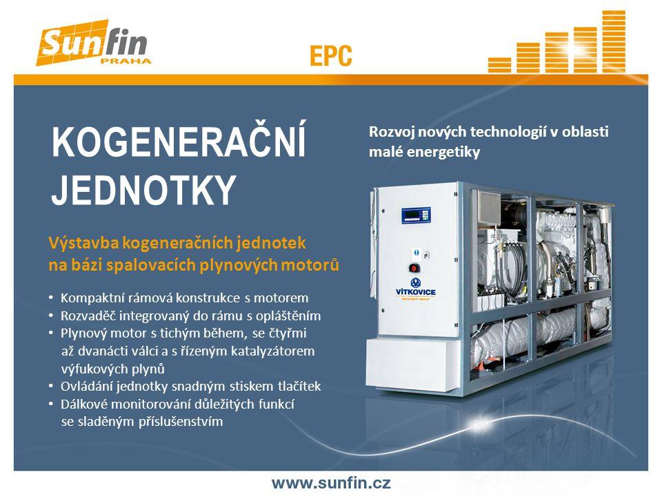INSTALACE KOGENERAČNÍCH JEDNOTEK V PRŮMYSLOVÝCH CELCÍCH Varianty řešení zpracovány ve spolupráci s VŠB – TECHNICKÁ UNIVERZITA OSTRAVA VÝZKUMNÉ ENERGETICKÉ CENTRUM