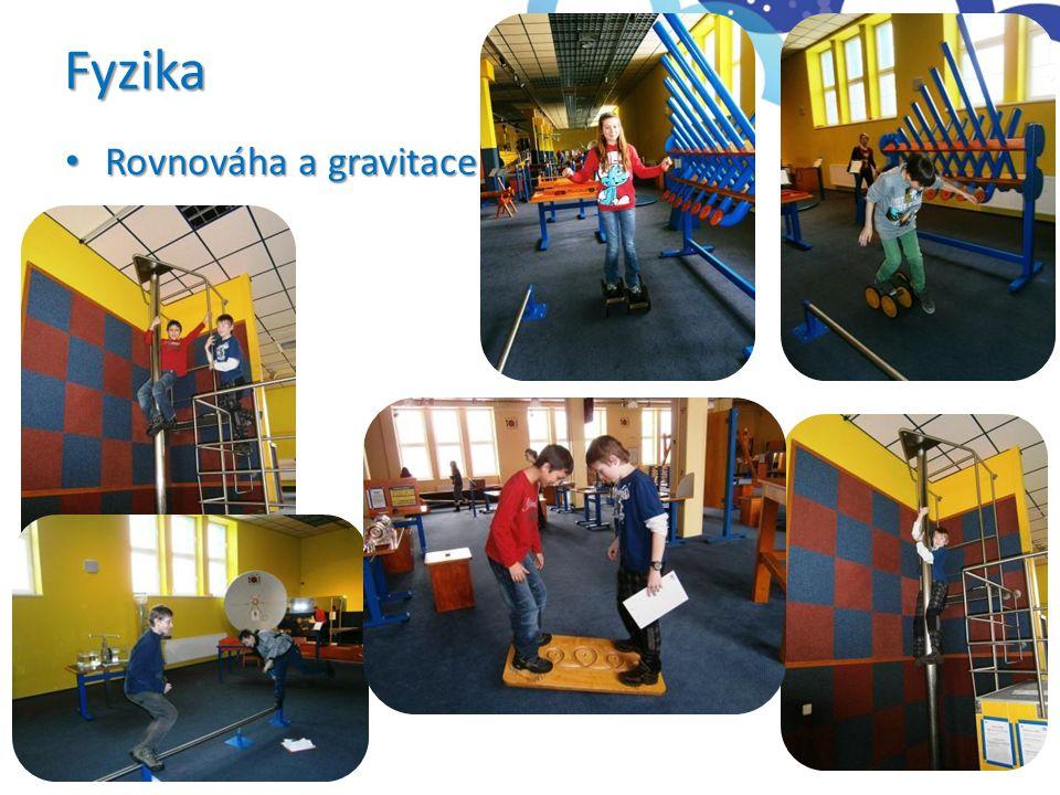 Fyzika • Rovnováha a gravitace