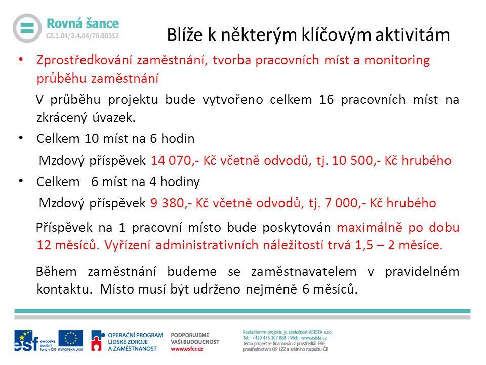 Červen 2012 Informační schůzka a podpis smluv o vstupu do projektu (27.