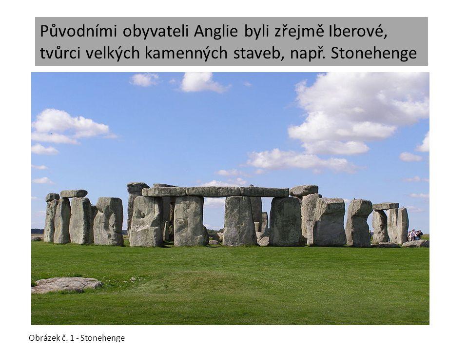 Původními obyvateli Anglie byli zřejmě Iberové, tvůrci velkých kamenných staveb, např.