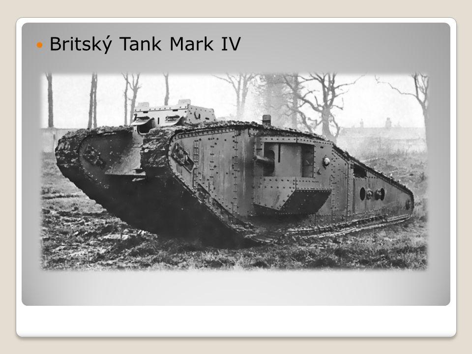  Britský Tank Mark IV