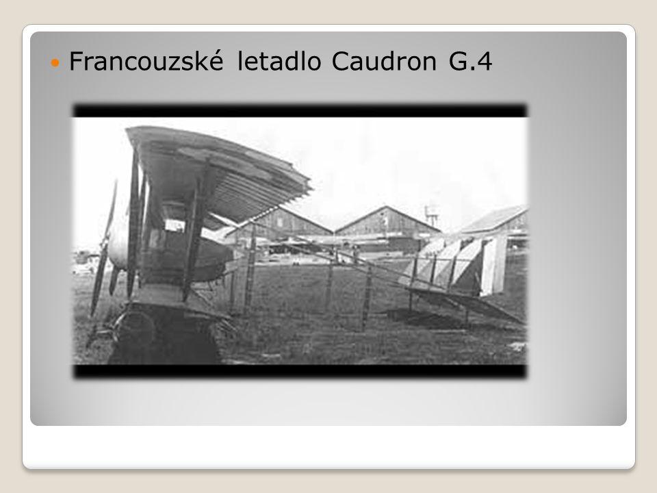  Francouzské letadlo Caudron G.4