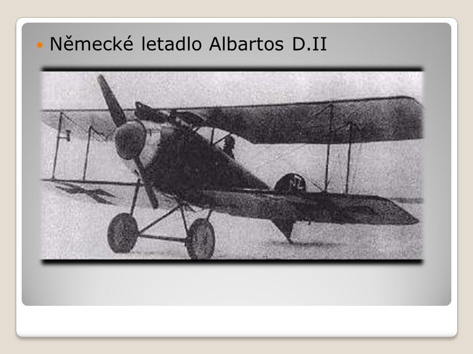  Německé letadlo Albartos D.II