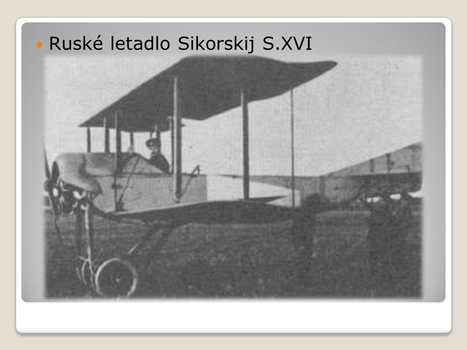  Ruské letadlo Sikorskij S.XVI