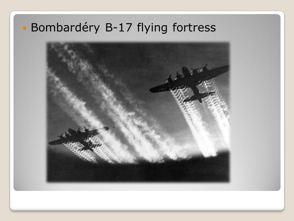  Bombardéry B-17 flying fortress
