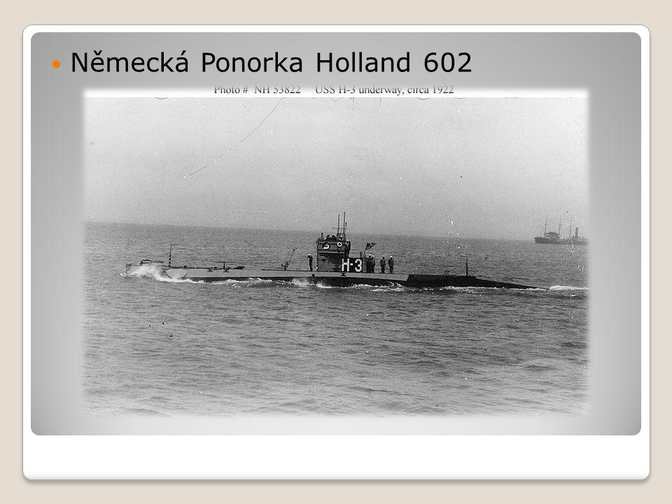  Německá Ponorka Holland 602