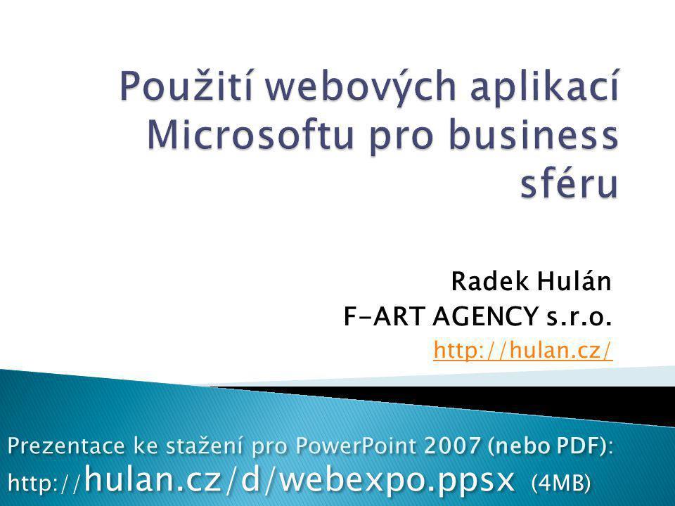 Radek Hulán F-ART AGENCY s.r.o.