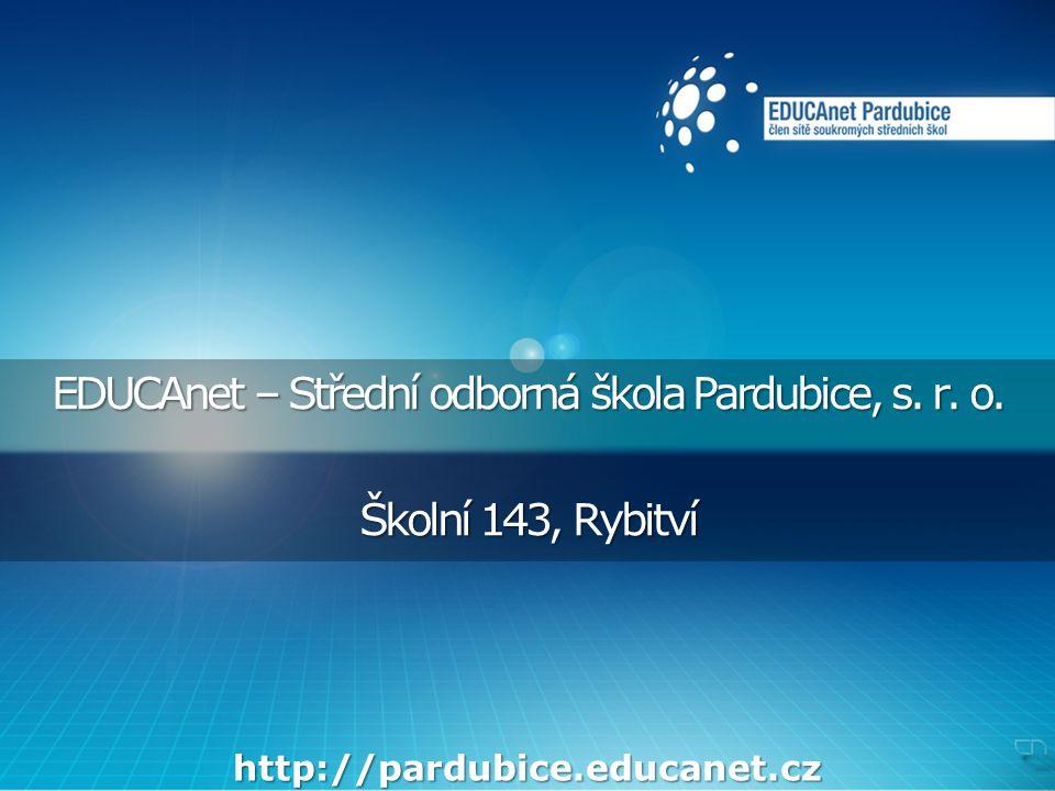 EDUCAnet – Střední odborná škola Pardubice, s. r.